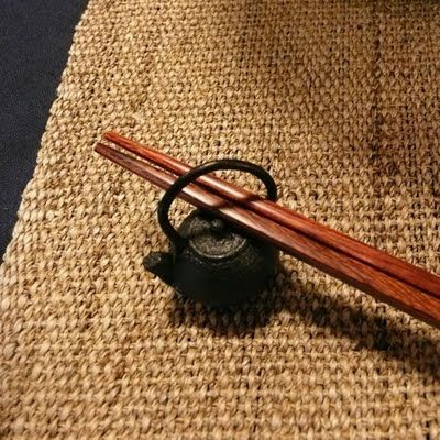 Nanbu Tekki (ironware) Chopsticks rest - Japan