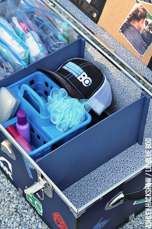 how to pack a trunk for summer camp - best trunk for camp