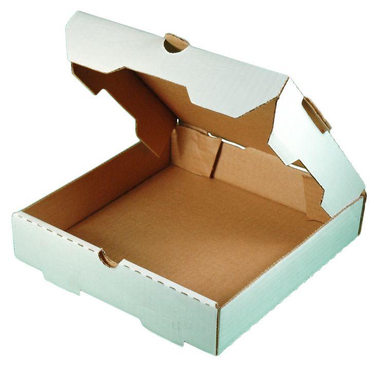 "Plain White 10"" Pizza Boxes 50/Bundle Exterior Color: White Interior Color: Kraft (brown) Bundle Quantity: 50 Height: 1.75"" Corrugated cardboard pizza box. Avai"