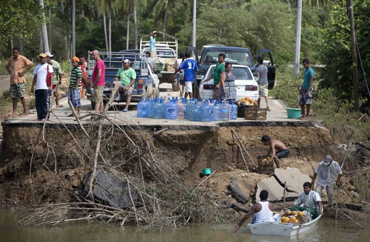 Manuel hurricane Mexico, September 2