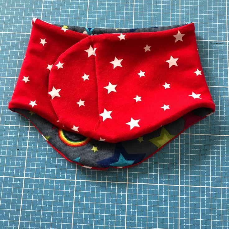 Klett-Halssocke nähen   costura   Sewing, DIY Gifts e Neck ...