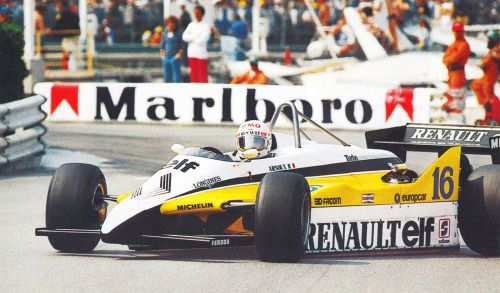 Managing the drift angle - René Arnoux