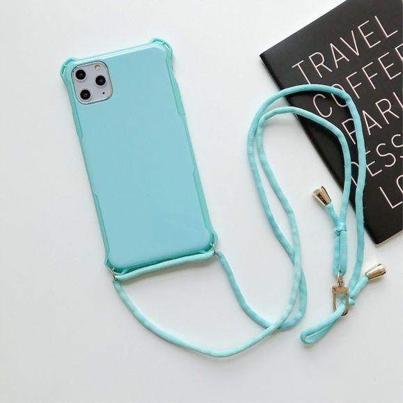 Coque iPhone 11 avec lacet bandoulière | Accessoires iphone ...