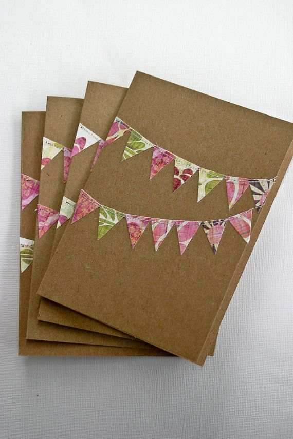 bunting flag cards $4.99