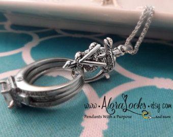 AloraLocks Veterinarian Technician Caduceus Ring & by AloraLocks