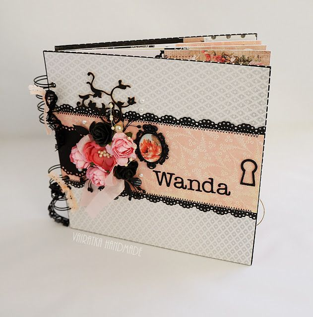 http://polandhandmade.pl #polandhandmade #scrapbooking #vairatka