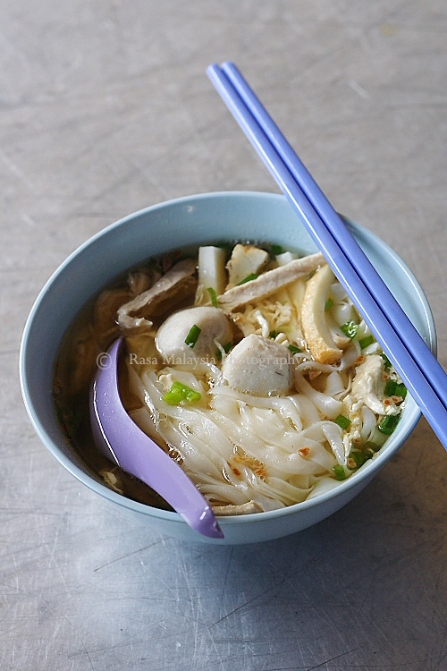 how to cook fresh flat rice noodles