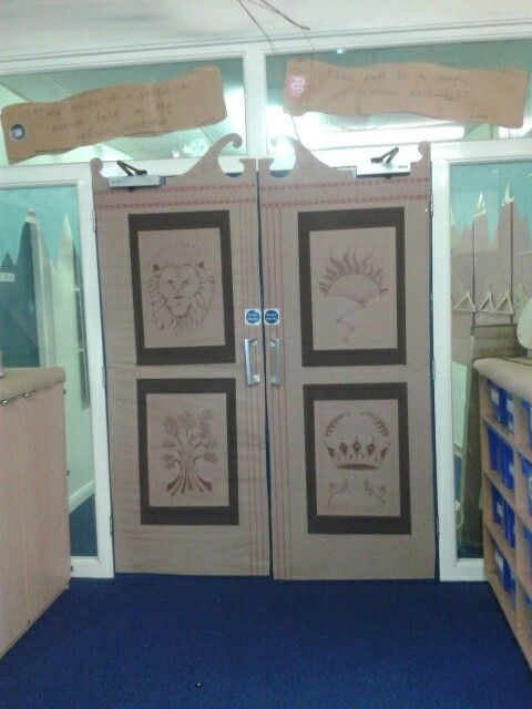 Narnia wardrobe doors for The Lion, The Witch & The Wardrobe!