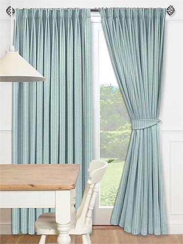 Drayton Aqua Curtains