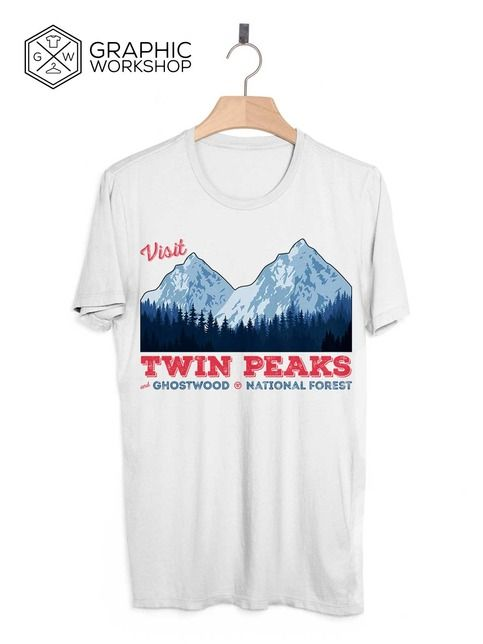 Visit+Twin+Peaks+T-Shirt+//+Laura+Palmer+Agent+Cooper+Fire+Walk+With+Me+David+Lynch+Vintage+Crime+Drama+Mystery+TV+Show+Cult+Funny+Tee+Gift  +++++++++++  In+Graphic+Worshop+we+take+quality+very+seriously,+and+make+every+t-shirt+on+demand,+specially+for+our+customers.+That+gives+us+the+opportu...