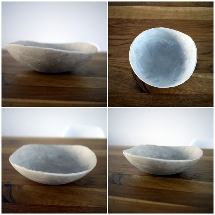 Projectorium - ceramic bowl before baking.