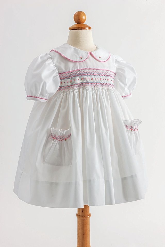 Vintage Inspired Girls Dress: Pockets and Posies - Classic Sewing