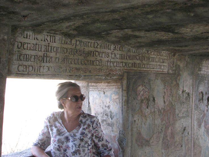 Inscripciones en latín en la Ermita de San Jorge