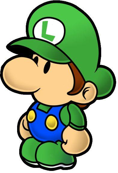 baby luigi - Bebe Mario