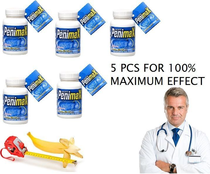 BEST PENIMAX PENIS FIT TABS Stamina and Enlargement Pills 60 Tabs 5ps max effect