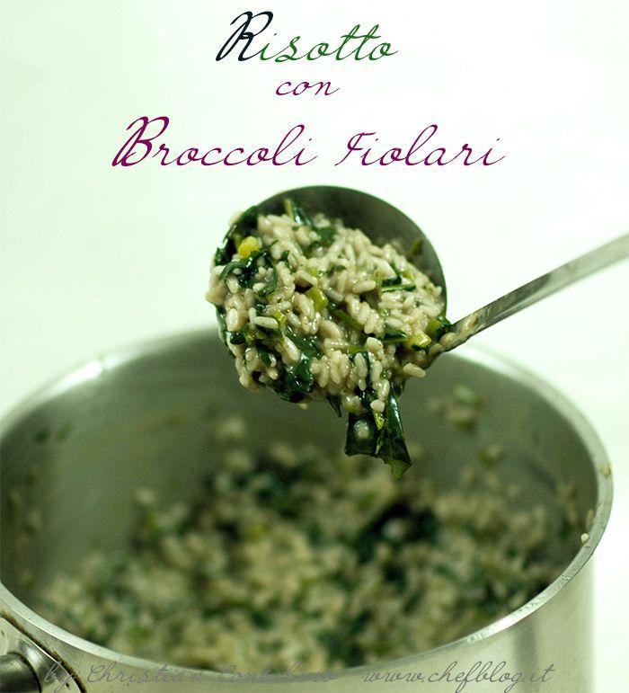 Risotto con broccoli Fiolari
