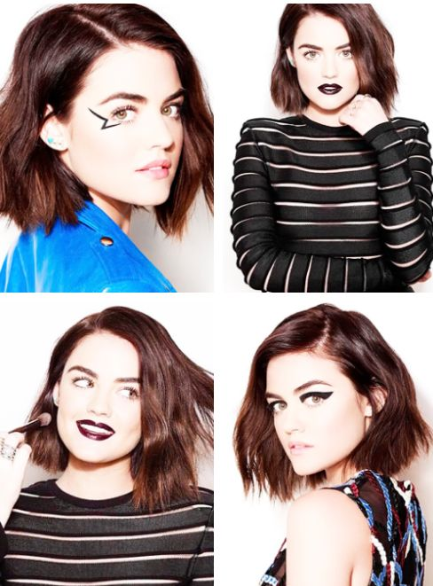 Lucy Hale for Mark Beauty's 2015