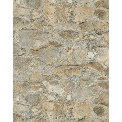 "Found it at Wayfair - Weathered Finishes 33' x 20.8"" Field Stone Wallpaper"