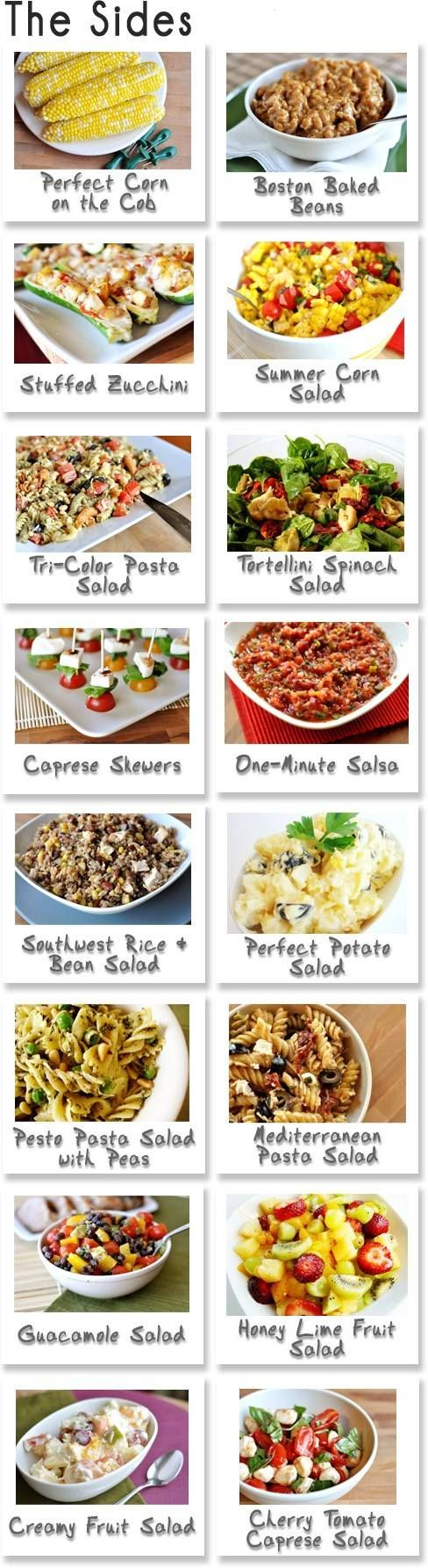 Cookout Sides: Summer Side Dishes, Ideas, Side Dishes For Cookout, Bbq Sides, Tasti Recipes, Bbq Food, Summer Cookout, Side Recipes, Cookout Side