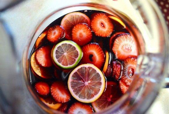 Summer Sangria! One of my favorite drinks