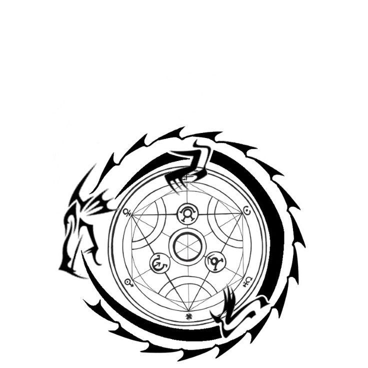 Oroborus - Dragon circle, Dragon swallows his own tail