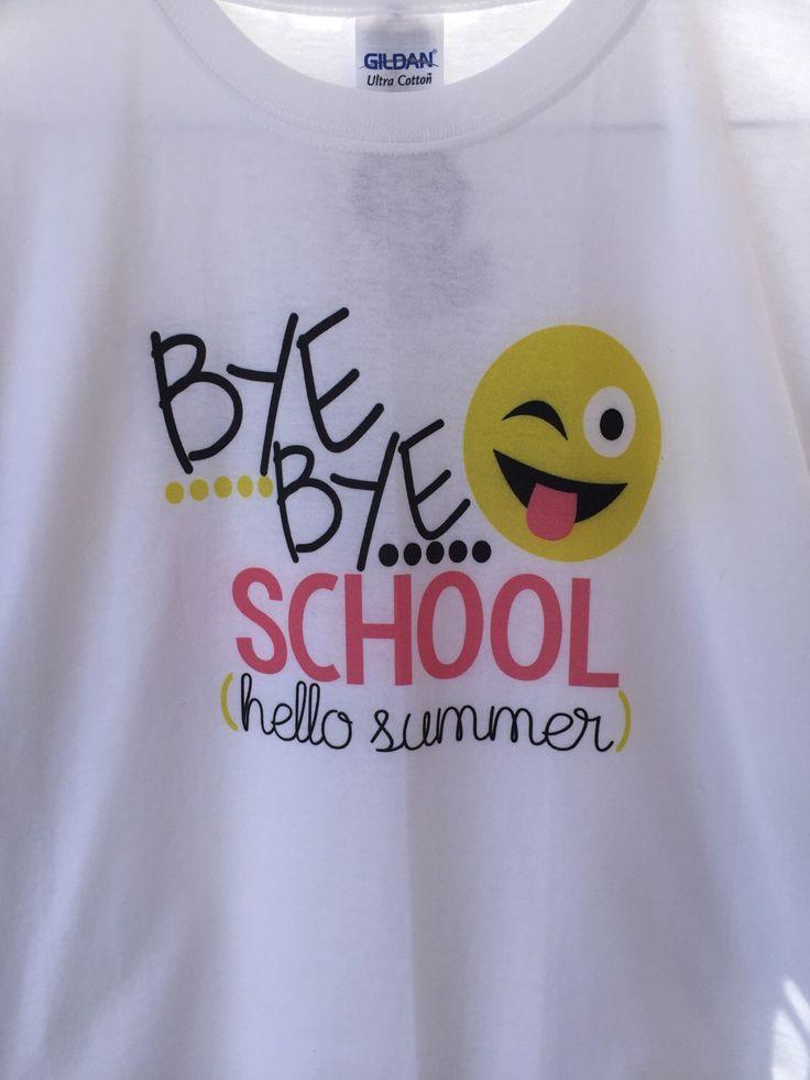 A personal favorite from my Etsy shop https://www.etsy.com/listing/277654146/bye-bye-school-last-day-of-school-last