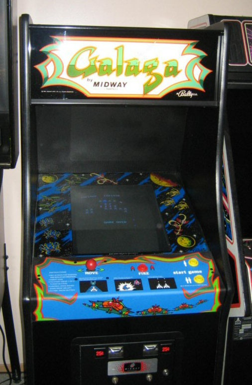 Galaga, favorite game EVER!! Used to play every morning before school in '83-'84. Still play when I see one!!