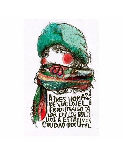 Ilustración de Paula Bonet · Tienes más aquí: http://gnomo.eu/collections/paula-bonet