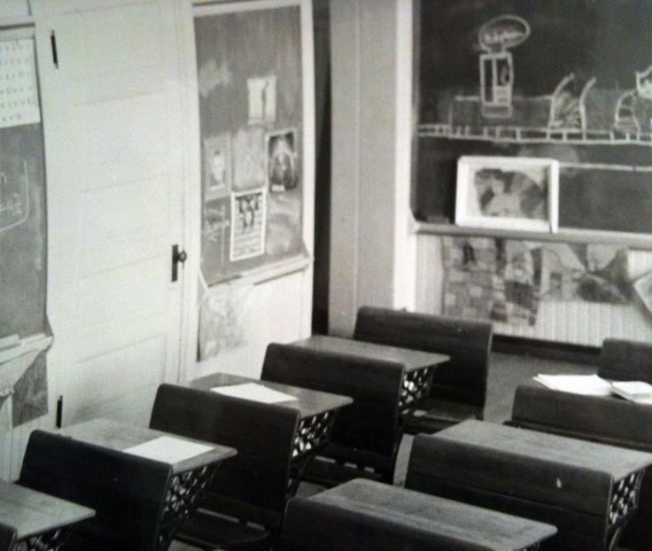 21st Street School Classroom 1965