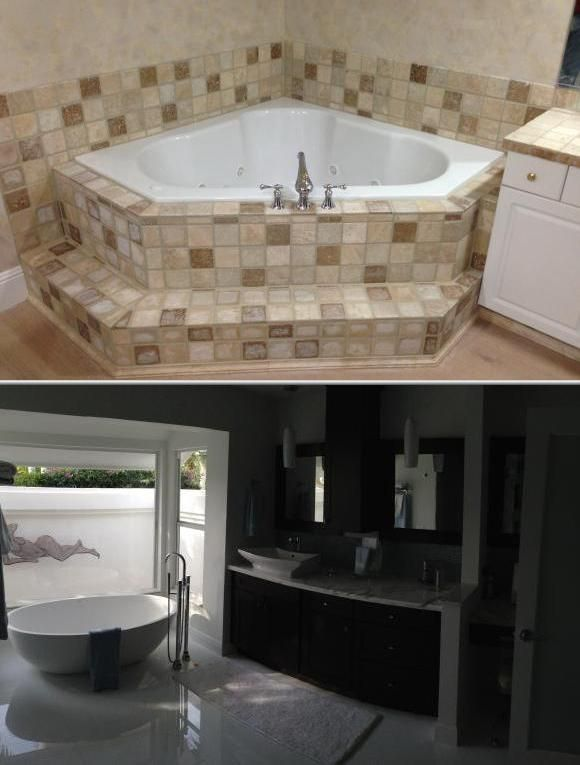 this contractor offers tub liner installation bathroom