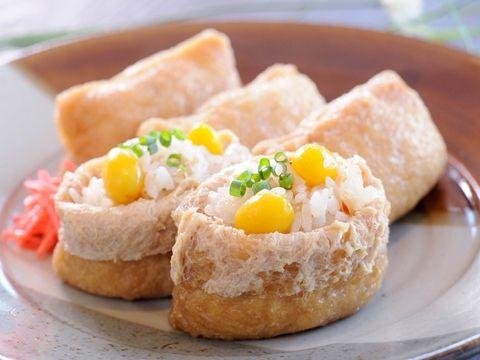 みんなのレシピ:切干大根入り稲荷寿司