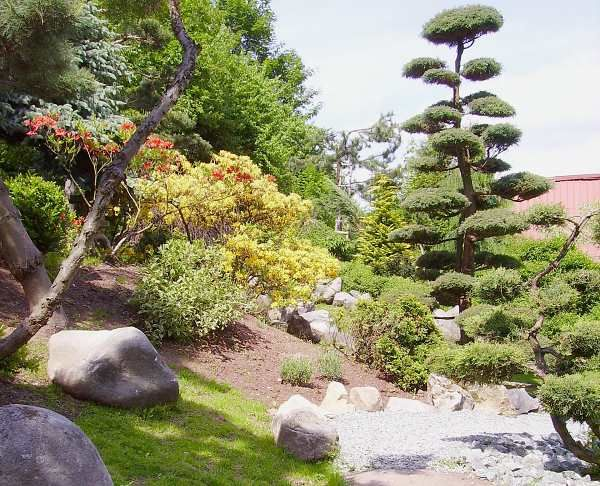 Ogród japoński, Jarków, Lewin Kłodzki