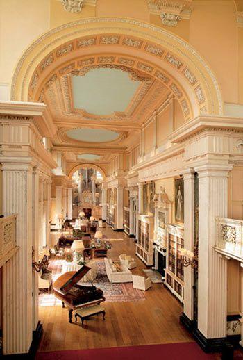 blenheim palace interior
