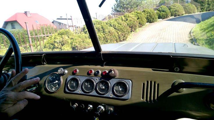 uaz silnik engine land rover 300 td #3 - YouTube