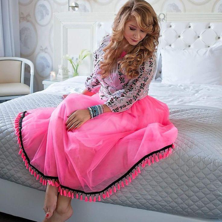 Livada cu rochii. Romanian Traditional dress  Inspiration Lace  Pink dress  Cozy romantic