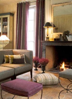 J Nelson Fabric Line ADAC Atlanta Linen Cotton Livingroom