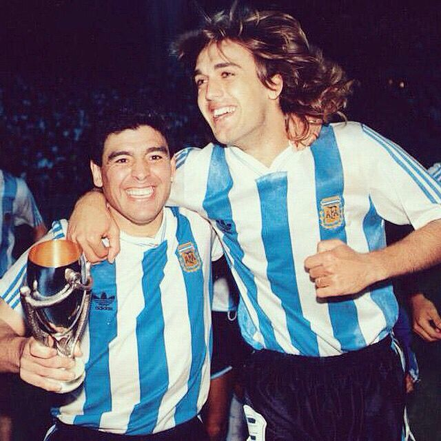 #TB #Batistuta #Maradona • #Beasts #Legends #Idols #Argentina