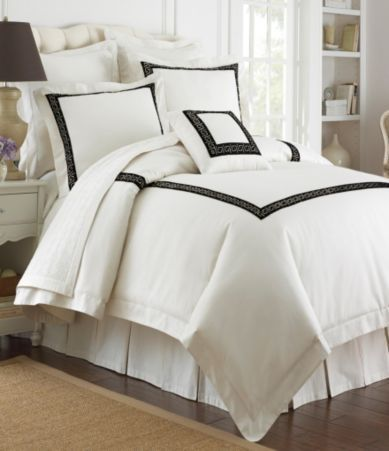 Greek Bedding Set Matching Window