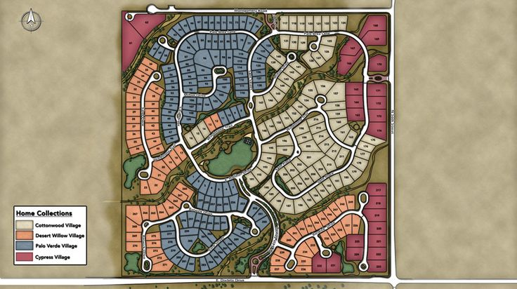 Toll Brothers - Montevista Overall Site Plan