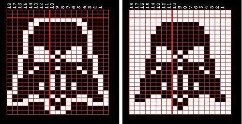 darth vader chart double by super.happy.fun.knitty.time, via Flickr