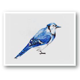Toronto Series Postcards: Blue Jay – art of influence