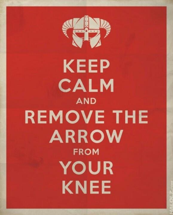 Es un buen consejo.. #skyrim