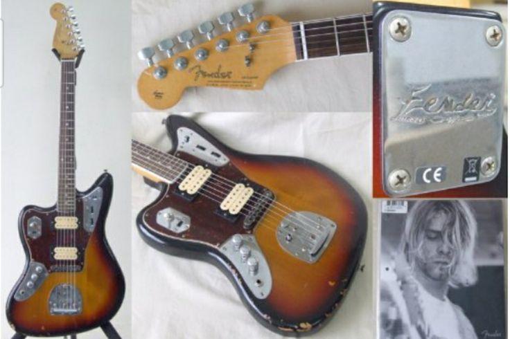 Kurt Cobain Fender Jaguar