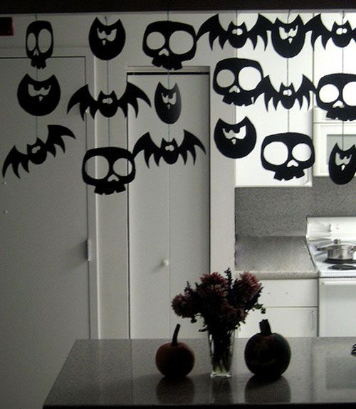 15 last minute halloween decorations you can make in a for 5 minute halloween decorations