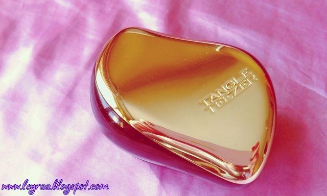 Leyraa Blog: Tangle Teezer Compact Styler Gold Rush - recenzja ...