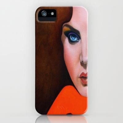 Gigantologia - le 2 buone sorelle iPhone Case by michela riba - $35.00