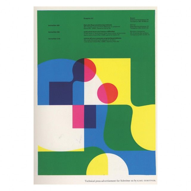 PENROSE ANNUAL 60 60 x 80 cm Print by Land of Lost Content