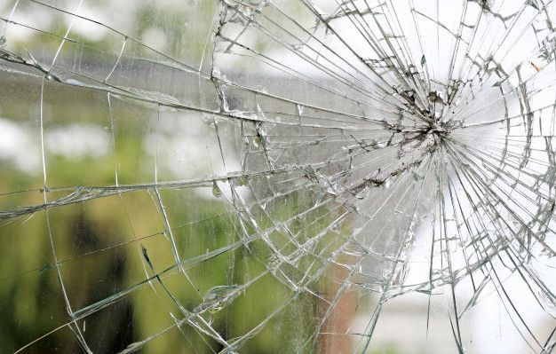 Vieux Fond De Fenetre En Verre Casse Sale Fissure Background Glass Window Broken Glass