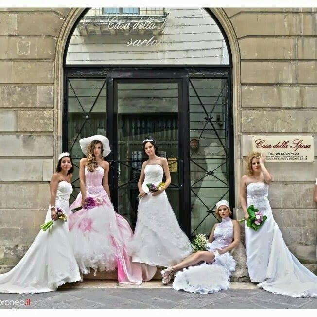 5 vere spose diventate modelle per un giorno per casadellsposalecce