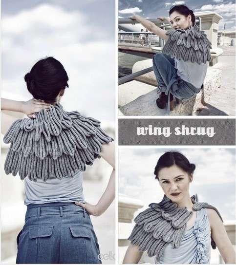 Coprispalle a maglia: foto e immagini - Coprispalle da angelo
